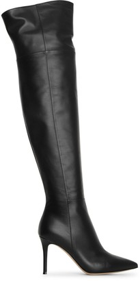 Gianvito Rossi Valeria 85 over knee leather boots
