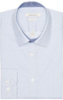 Perry Ellis Slim Fit Graphic Dress Shirt