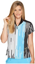 Jamie Sadock - Piano Print Short Sleeve Top Women's Clothing