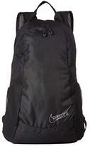 Nike 13 L Run Race Day Backpack (Black/Black/Pure Platinum/Silver) Backpack Bags