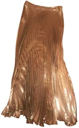 Vionnet Gold Silk Skirts