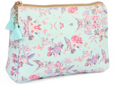 Riah Fashion Floral Cosmetic Pouch