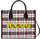 Thumbnail for your product : Gucci Small tote with ICCUG embroidery