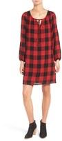 Madewell Women's Signal Buffalo Check Tunic Dress