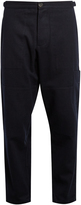 Oliver Spencer Judo cotton and wool-blend trousers