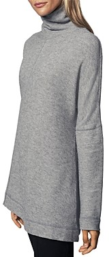 Thumbnail for your product : b new york Recycled Asymmetrical Turtleneck