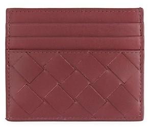 Bottega Veneta Inter Woven Leather Card Case
