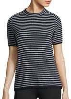 Max Mara Striped Cashmere Top