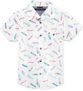 Tommy Hilfiger Sk8 Printed Cotton Shirt, Toddler & Little Boys (2T-7)