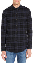 Ezekiel Dallas Plaid Long Sleeve Trim Fit Shirt
