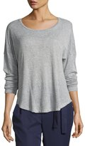 Bobeau High-Low Knit T-Shirt