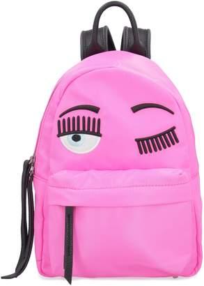 Chiara Ferragni Flirting Technical Fabric Backpack