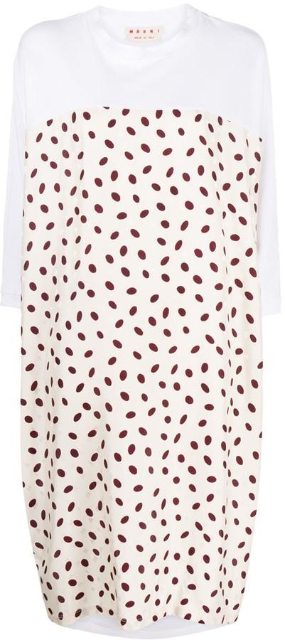 Marni Bubble-print dress