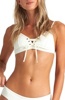 Billabong Onyx Wave Lace-Up Triangle Bikini Top