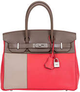 One Kings Lane Vintage Hermès Ltd. Tricolor Birkin 30cm