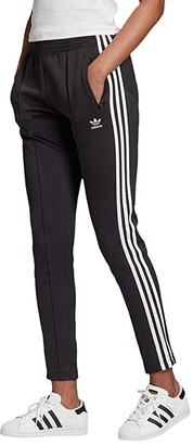 adidas Superstar Track Pants (Black/White) Women's Workout
