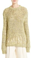 Joseph Women's Destroyed Cable Knit Pullover