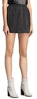 AllSaints Suko Suede Skirt
