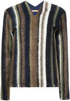Nehera striped v-neck pullover