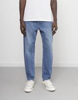 The Idle Man Straight Leg Original Taper Stonewash Jeans