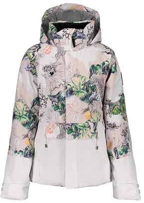 Obermeyer Taja Print Jacket (Little Kids/Big Kids) (Tell Me A Story) Girl's Jacket