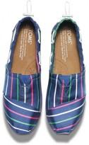 Toms Blue stripe youth bimini