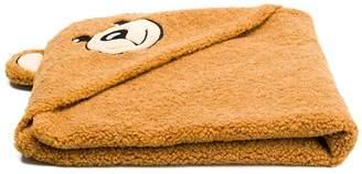 Moschino Kids hooded Teddy Bear towel