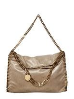 Stella Mccartney - Falabella Gold Chain Faux Suede Bag