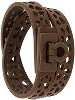 Salvatore Ferragamo cut-out detail bracelet