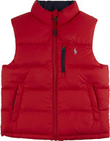 Ralph Lauren Padded reversible gilet 2-7 years