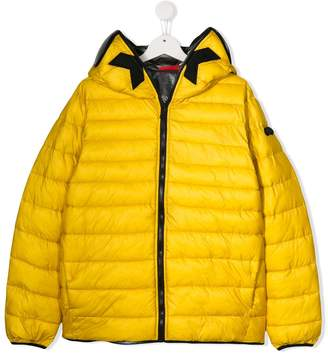 AI Riders On The Storm TEEN hooded puffer jacket