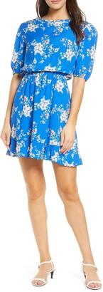 Fraiche by J Miju Short Floral Dress