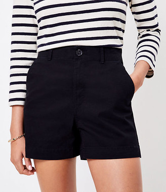 LOFT The Washed Twill Short