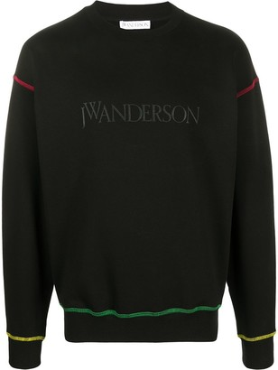 J.W.Anderson Logo-Embroidered Sweatshirt