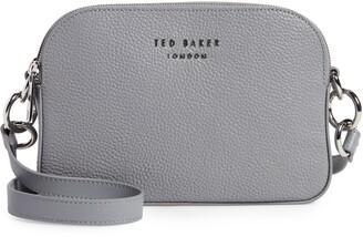 Ted Baker Amerrah Branded Strap Leather Crossbody Bag