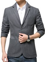 URBANFIND Men's Slim Fit Simple Casual Wear Blazer Jacket