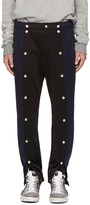 99% Is Navy and Black Snap Lounge Pants