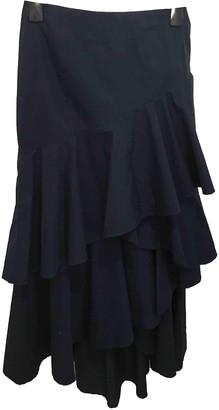 Alice + Olivia Blue Cotton Skirt for Women