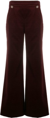 Temperley London Esmeralda wide-leg trousers