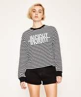 Insight Strike Through Long Sleeve T-shirt Stripe