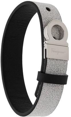 Salvatore Ferragamo Sparkle Logo Strap Bracelet