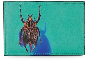 Paul Smith Beetle Graphic Leather Card Case