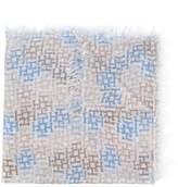 Hemisphere fringed scarf