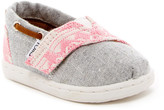 Toms Bimini Chambray Geo Textile Slip-On Shoe (Baby, Toddler, & Little Kid)