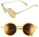Loewe Women's 54Mm Round Retro Sunglasses - Black