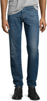 Diesel Buster L32 Faded Straight-Leg Jeans, Blue