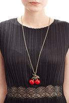 Kenneth Jay Lane Cherry Pendant Necklace