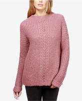 Lucky Brand Open-Knit Crew-Neck Sweater