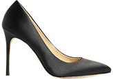 Karen Millen Satin Stiletto Heeled Court Shoes