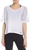 Nike Women's Mesh Sleeve Top